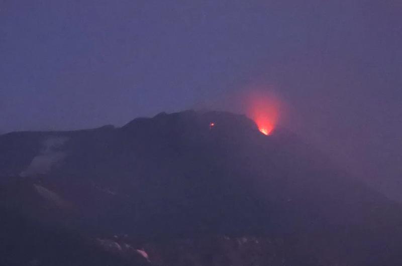 Terza eruzione dell'Etna in tre giorni