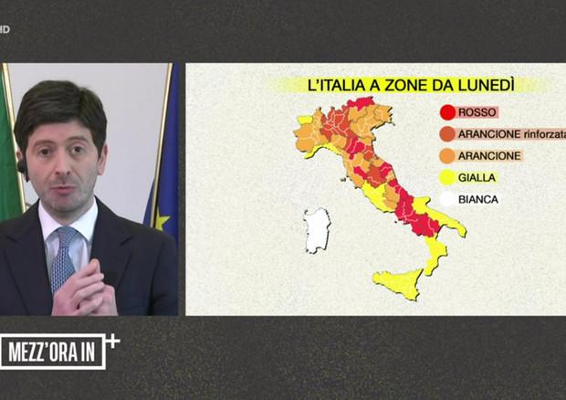 Speranza: entro l'estate vaccinati tutti gli italiani che vorranno